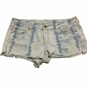 American Eagle Outfitters Tie Dye Short Shorts 16